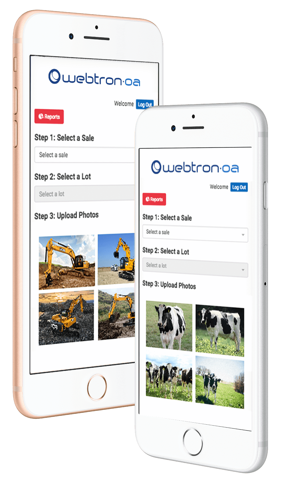 Webtron Online Auction Photo Manager - Plant and Machinery Auction Software & Reporting